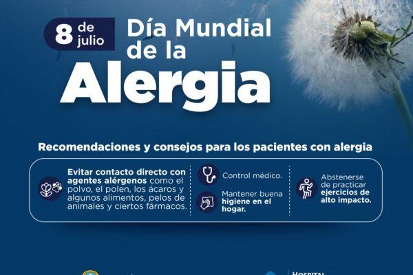 Hospital Materno Infantil conmemora el Dia Mundial de la Alergia
