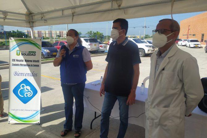 Red Hospitalaria de Soledad recibe donación de equipos médicos por parte de Cruz Roja y Usaid