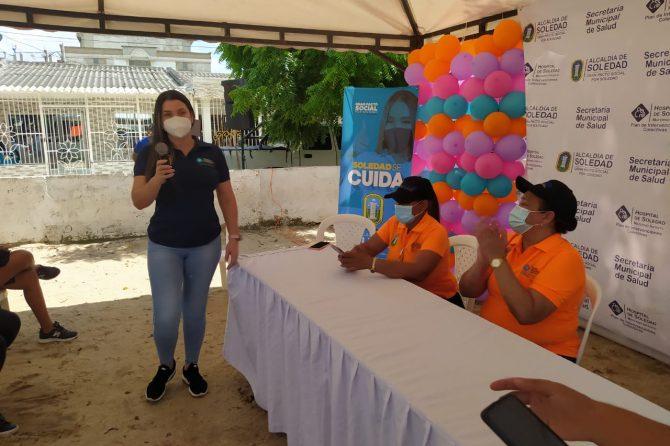 A esta hora en Soledad se desarrolla la Tercera Jornada Nacional de Vacunación