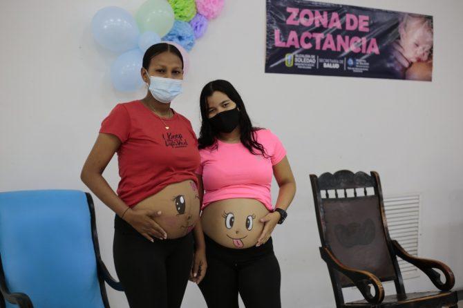 """Con el lema """"Una Responsabilidad Compartida"""", culminó Semana de la Lactancia Materna en Soledad"""