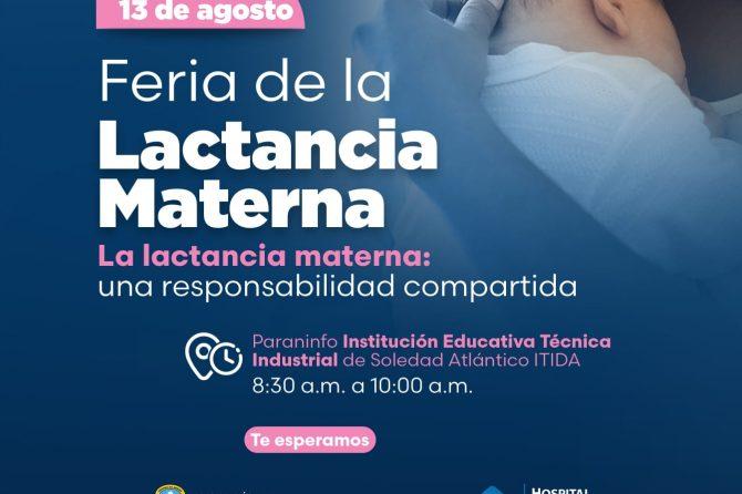 Hoy Feria de la Lactancia Materna en Soledad